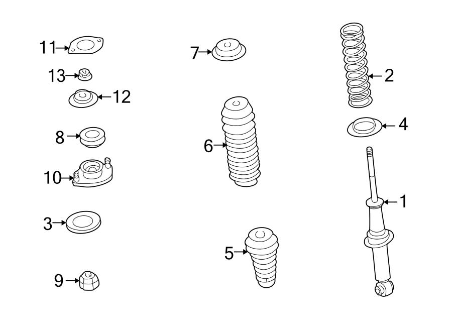 Mazda MIATA Coil Spring Insulator. Lower, Suspension