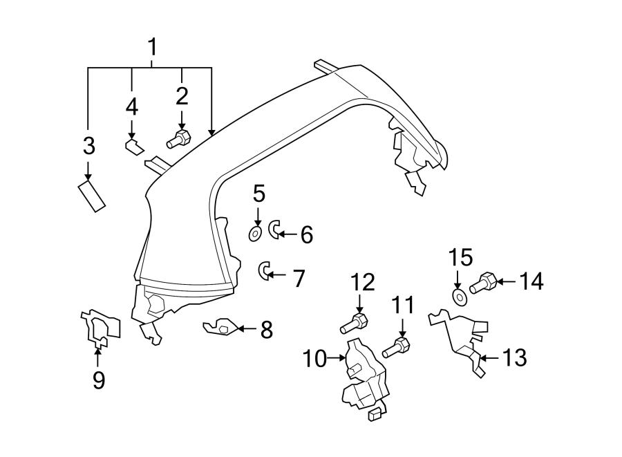 Mazda MX-5 Miata Convertible Top. REAR ROOF PANEL, copper