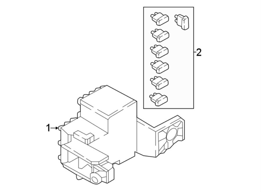 Mazda MX-5 Miata Fuse. Amp, COMPARTMENT, Engine