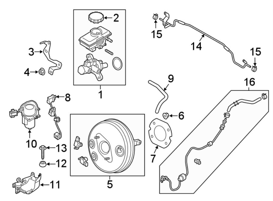 Mazda MX-5 Miata Abs system main harness. Panel, dash