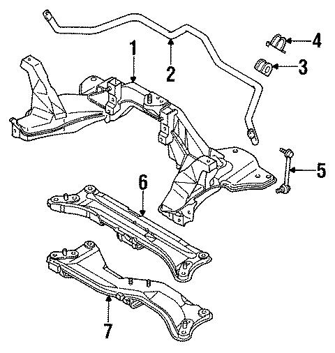 Mazda 626 Plate, Stabilizer. Stabilizer bar bracket