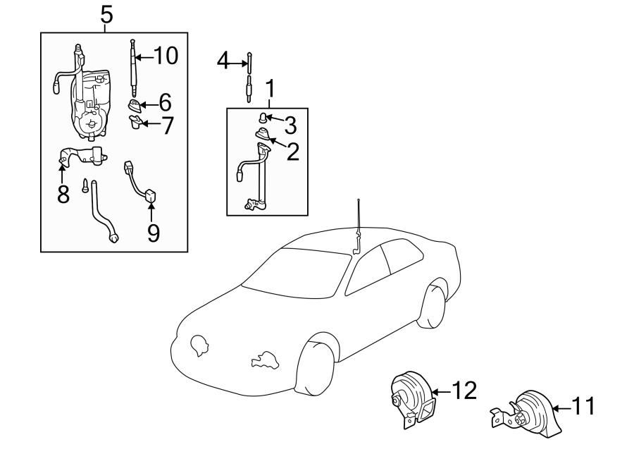Mazda 626 Antenna, manual. Radio Antenna Mast. 626; Manual