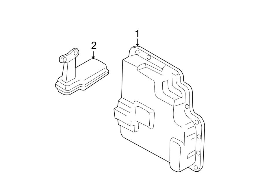 Mazda MPV Transmission Filter. 3.0 LITER, AUTO TRANS