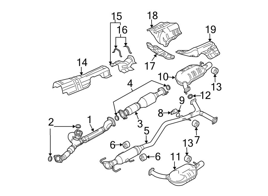 Mazda 6 Pipe. Exhaust. 3.0 liter, 2006-08. Mazda6; 3.0l