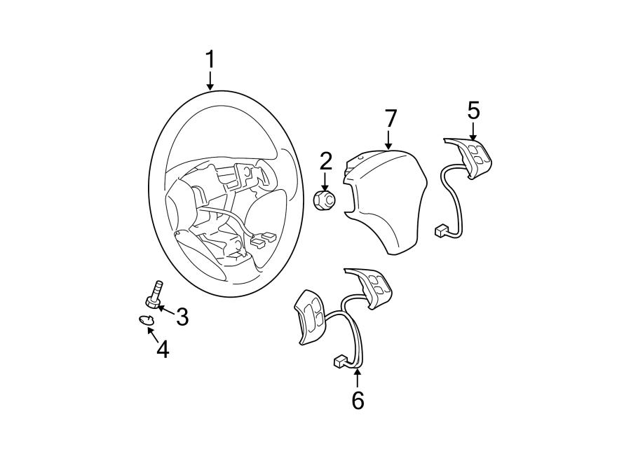 Mazda 6 Steering Wheel Radio Controls. W/O MAZDASPEED6, w