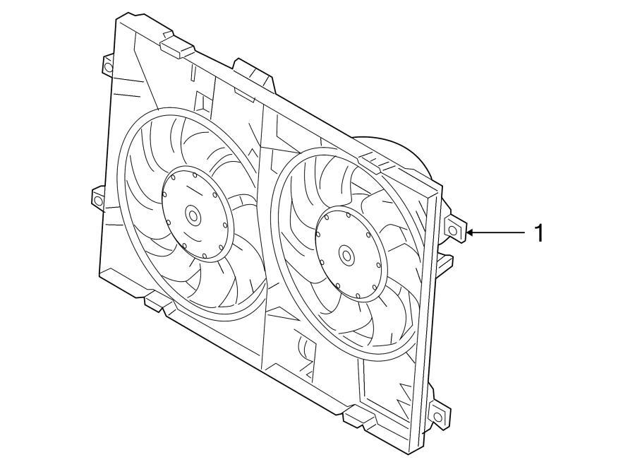 Mazda 6 Engine Cooling Fan Assembly. RADIATOR, LITER