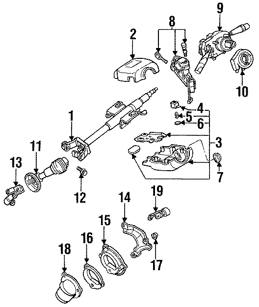Mazda 626 Lock. Sub. Cylinder. Key. And s. Set, seat