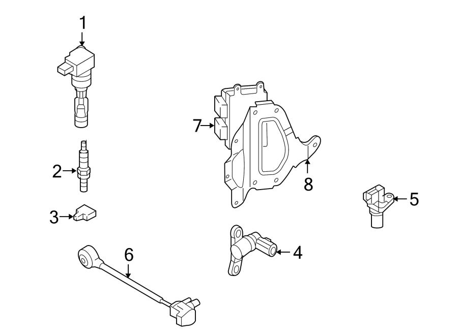 Mazda CX-7 Engine Camshaft Position Sensor. Repair, Cause