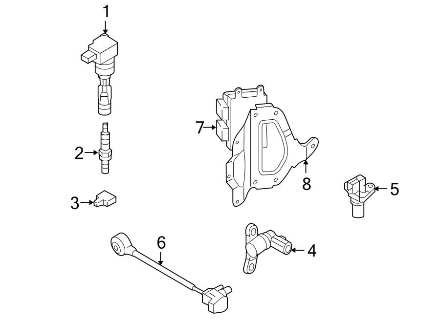 Mazda CX-7 Engine Control Module. 2.5 LITER, Federal. CX-7