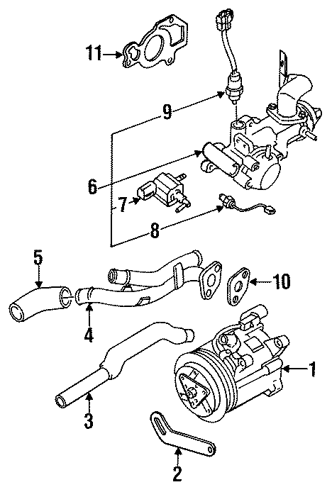 Mazda RX-7 Secondary Air Injection Pump. EMISSION, Repair