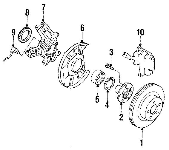 Mazda RX-7 Axle Hub. FLANGE, REAR (RR) AXLE. 929. RX-7
