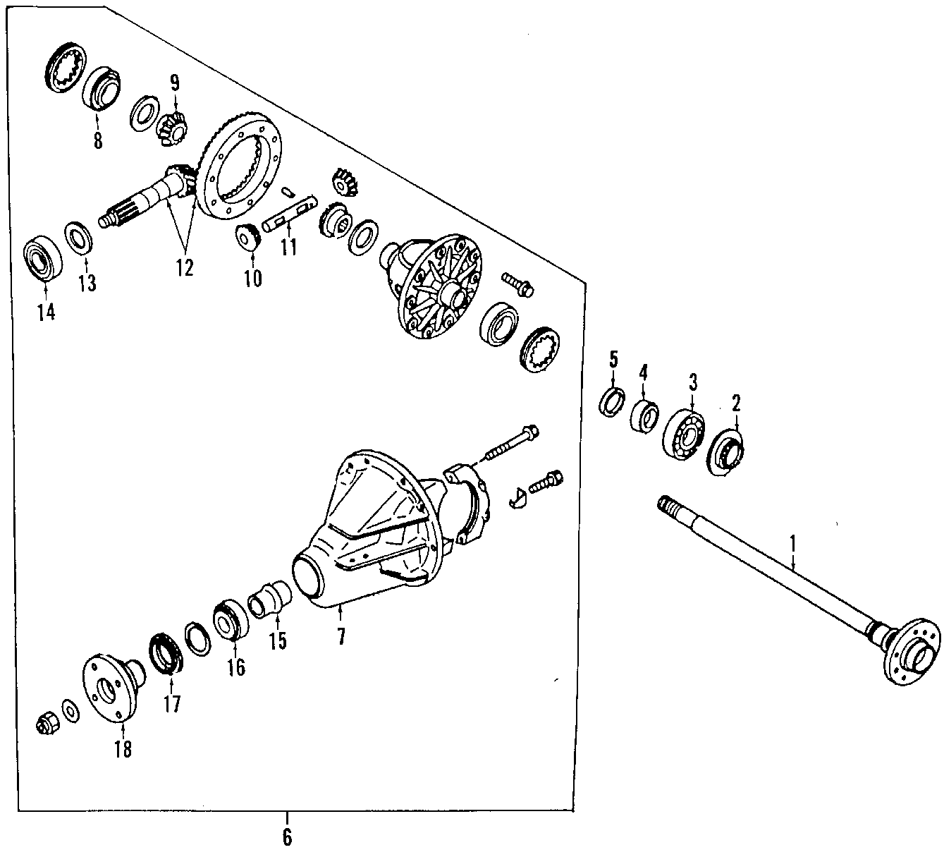 Mazda MPV Axle shafts. Shaft right (r), r. Mpv; w/o rear
