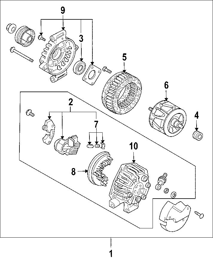 Mazda MX-5 Miata Rotor. Includes: rear bearing. Mazda3