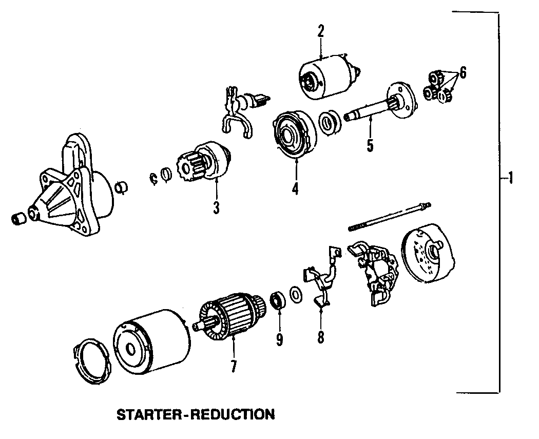 Mazda Protege Starter Solenoid. Miata MX5. Protege