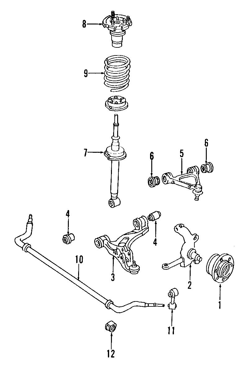 Mazda RX-7 Suspension Stabilizer Bar Link Kit. CONTROL