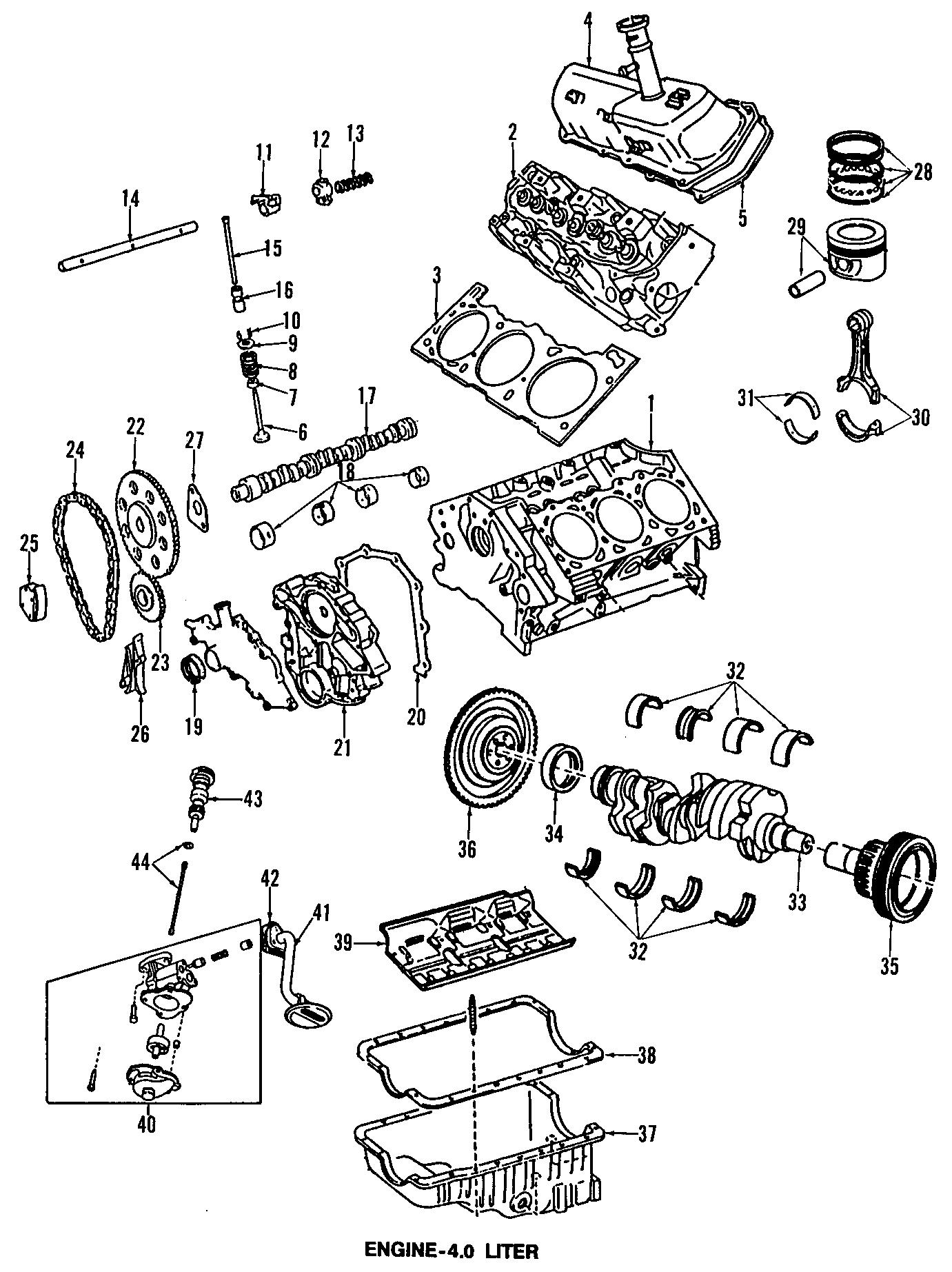 Mazda B3000 Engine Valve Stem Oil Seal. B4000. Navajo