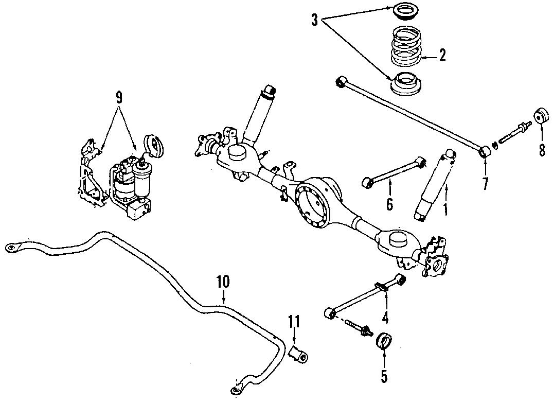 Mazda MPV Link bushing. Track bar bushing. Mpv; 4wd; from