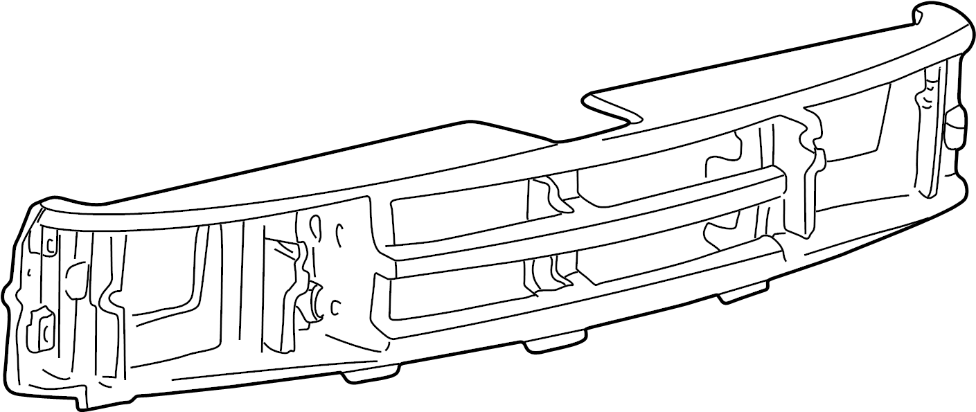 Mazda B3000 Grille Molding (Front, Upper, Lower). 1998-00