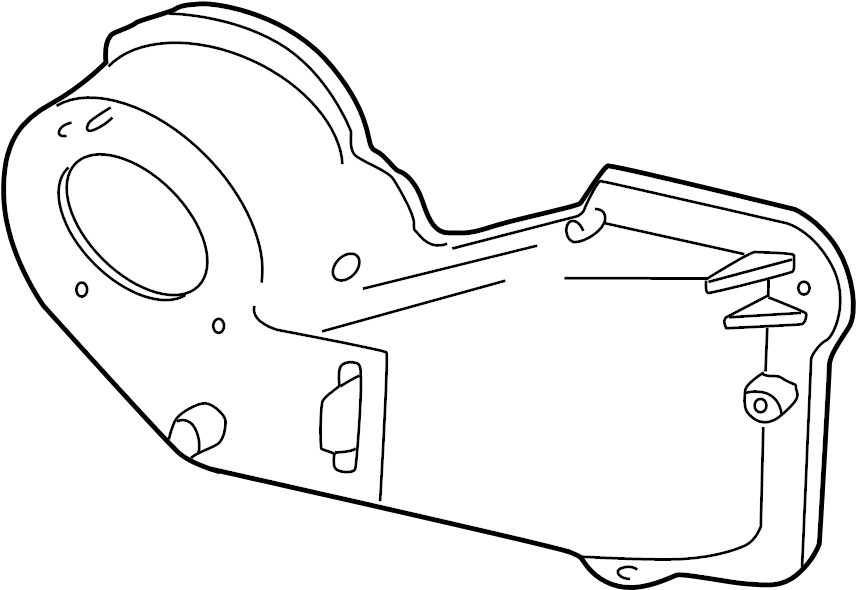 Mazda B3000 Hvac blower motor housing. Blower. Case''a