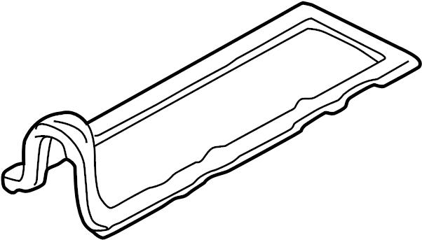Mazda B2300 Engine Valve Cover Gasket. 2.5 LITER. B2300