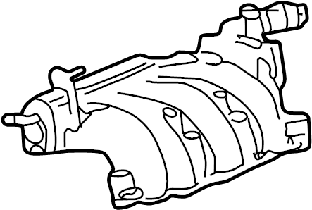 Mazda B3000 Engine Intake Manifold. 3.0 LITER, upper