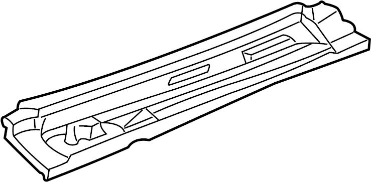 Mazda B2300 Cowl Panel (Front, Lower). CAB PLUS, 2 DOOR