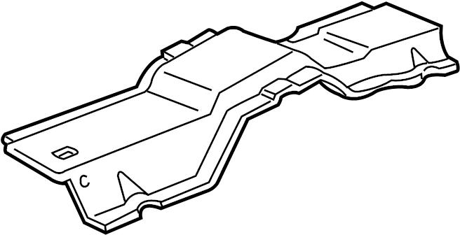 Mazda B3000 Seat Track Reinforcement. CAB PLUS, 2 DOOR