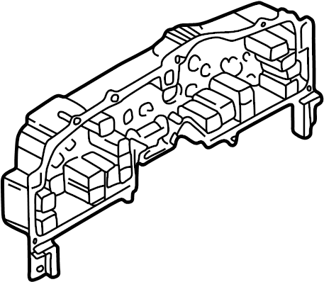 Mazda B3000 Instrument Cluster Housing. 1995-97, w