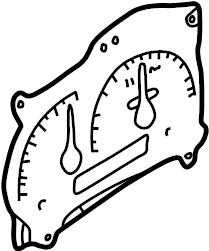 Mazda B4000 Speedometer Gauge. B-Series Pick-Up; w
