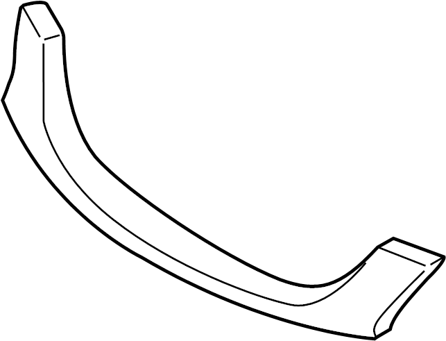 Mazda Tribute Grille Molding (Front, Upper, Lower). 2001