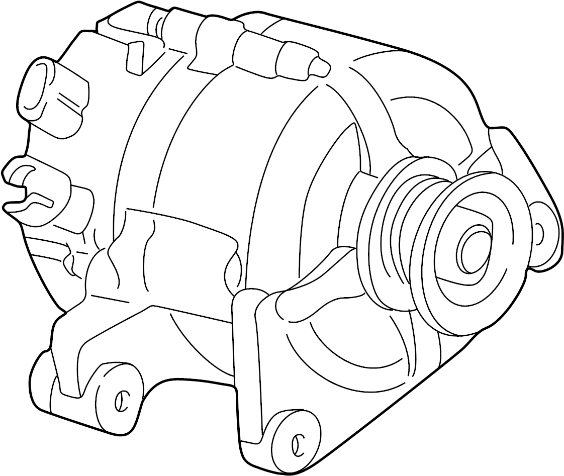 Mazda Tribute Alternator. 2.0 liter. Tribute; 2.0L; From 2