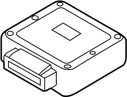 2008 Mazda Tribute Engine Control Module. 2.3 LITER, code