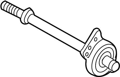 Mazda Tribute Cv intermediate shaft. Axle, auto, drive