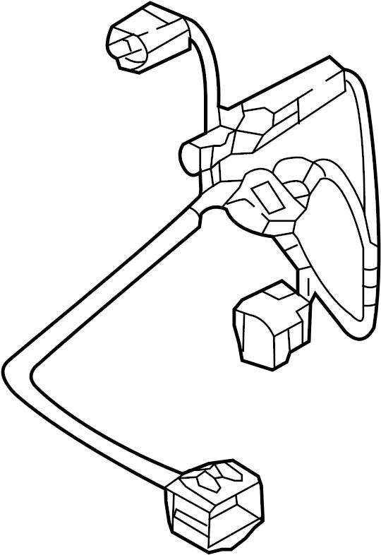 Mazda CX-9 Headlight Wiring Harness. W/O ADAPTIVE