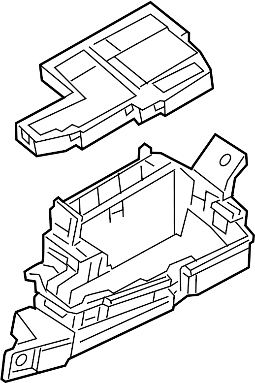 Mazda CX-9 Fuse and Relay Center. ENGINE COMPARTMENT. FUSE