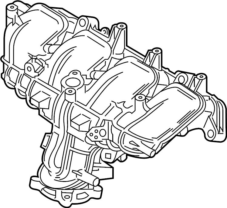 Mazda 6 Engine Intake Manifold 2 5 Liter Turbo Cx 5 2