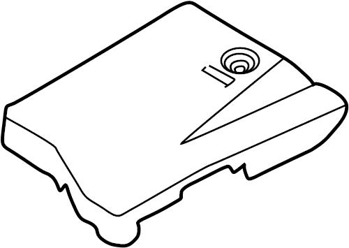 Mazda Millenia Fuse Box Cover. FUSE BOX & COMPONENTS, 2.5