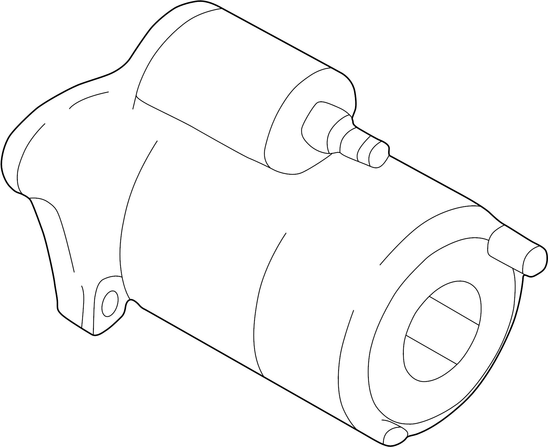 Mazda Protege Starter Motor