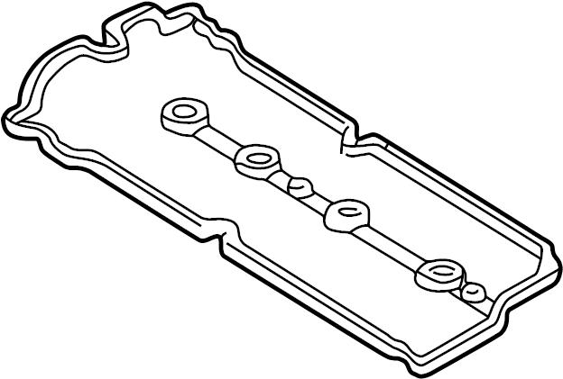 Mazda Protege Engine Valve Cover Gasket. 1.6 LITER