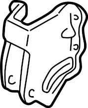 Mazda Protege Manual Transmission Mount Bracket. 1.6 LITER
