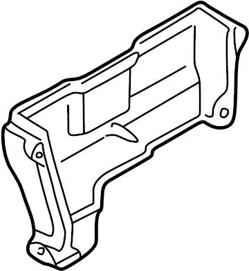 Mazda Protege Engine Timing Cover. 1.8 LITER. Protege; 1