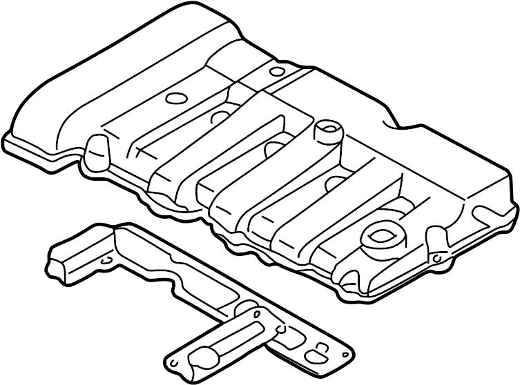 Mazda Protege Engine Valve Cover. 1.8 LITER. 2.0 LITER
