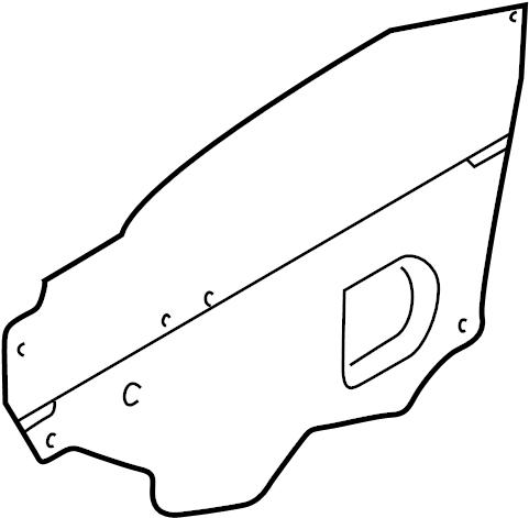 Mazda Protege Door Water Deflector. Power windows. LOCK