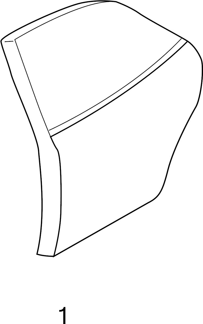 Mazda Protege Door Outer Panel (Rear). HATCHBACK. SEDAN