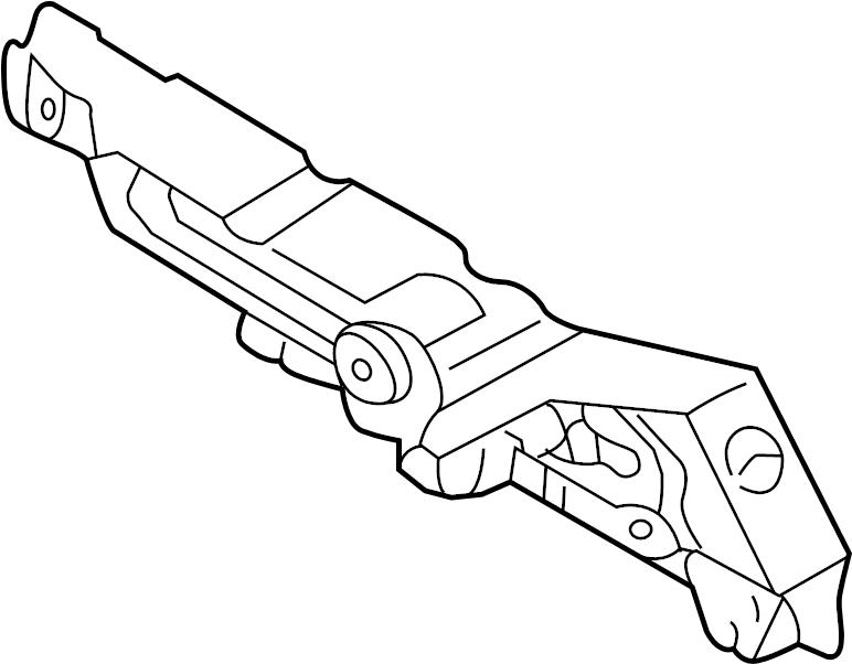 Mazda Protege Engine Control Module Cover. 1.6 LITER. 1.8
