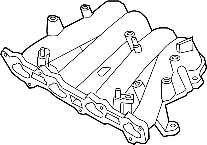 Mazda Protege5 Engine Intake Manifold. 2.0 LITER, w/MPS