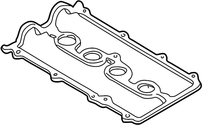 Mazda Protege5 Engine Valve Cover Gasket. 1.8 LITER. 2.0
