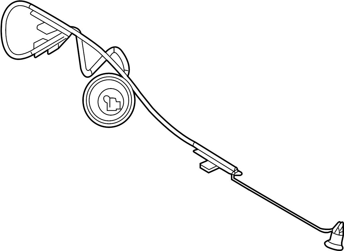 Mazda 3 Wiring Harness Connector. SEDAN. LAMPS