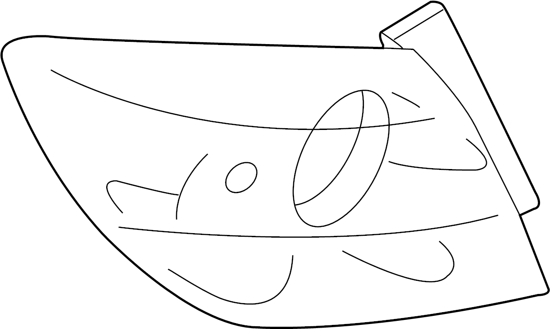 Mazda 3 Tail Light Assembly. HATCHBACK. Left, REAR, LAMPS