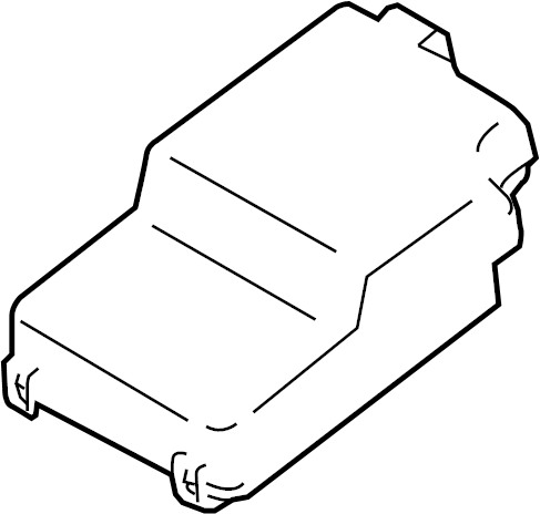 Mazda 3 Fuse Box Cover (Upper). FUSE AND RELAY, ENGINE